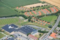 Luftfoto-Skærbæk-Kultur-og-Fritidscenter