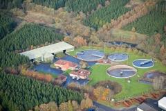 Luftfoto-af-Give-Rensningsanlæg-Jylland