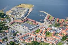 Luftfoto-med-beboelsesejendom-i-Frederikssund-Sjælland