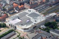 Broen-Shoppingcenter-Esbjerg-set-fra-luften-under-opførelse
