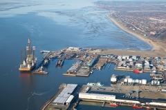 Visualisering-af-beliggenhed-set-fra-luften-Semco-hovedsæde-på-Esbjerg-Havn