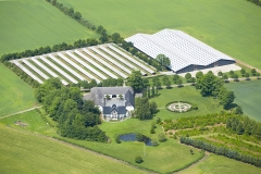 Luftfoto-af-minkfarm-nær-Kolding