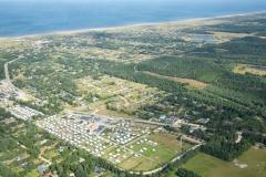 Luftfoto-Vejers-Stjernecamping