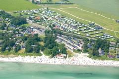 Saksild-Strand-Camping-set-fra-luften