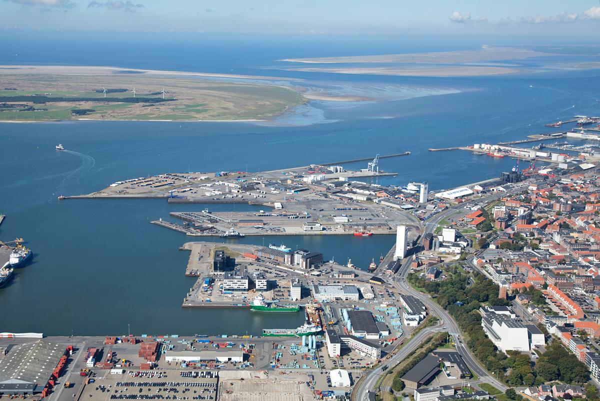Luftfoto-af-Esbjerg-Havn